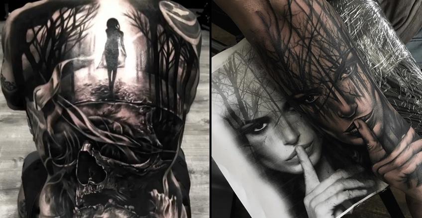 Black And Grey Tattoos By Tattoo Artist Jp Alfonso