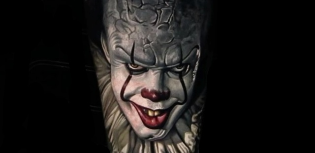 20 Awesomely Creepy Horror Tattoo Designs