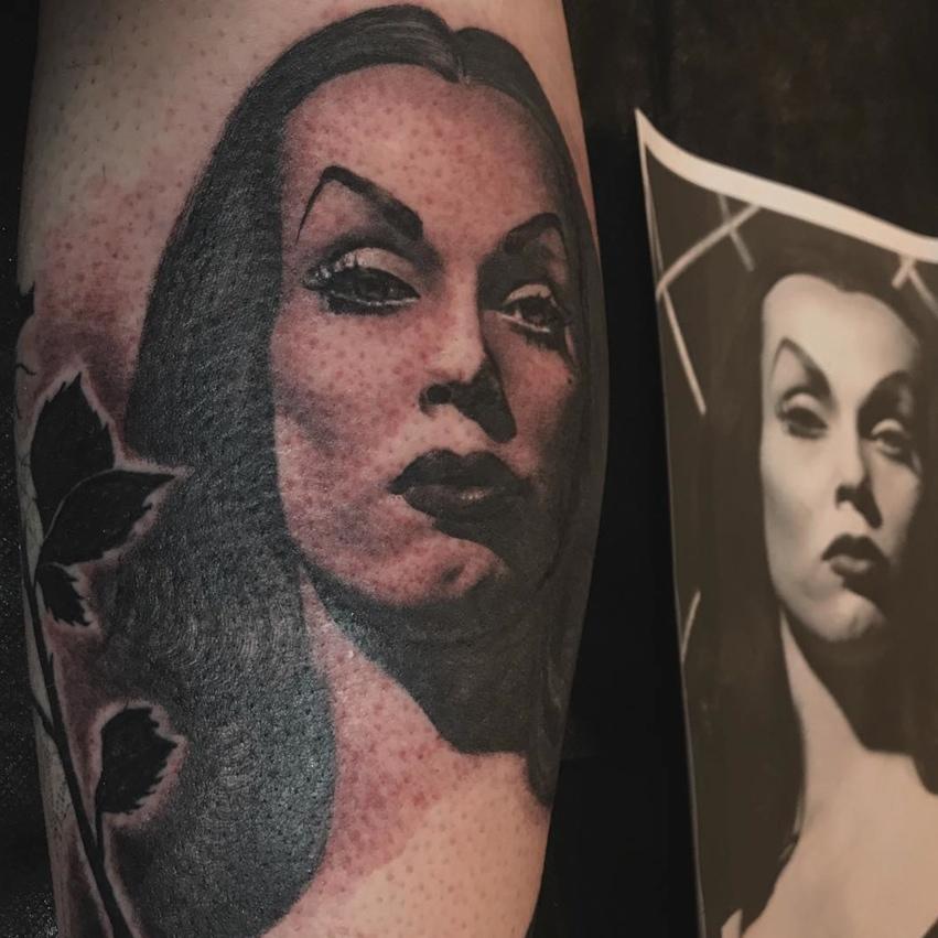 vampira tattoo