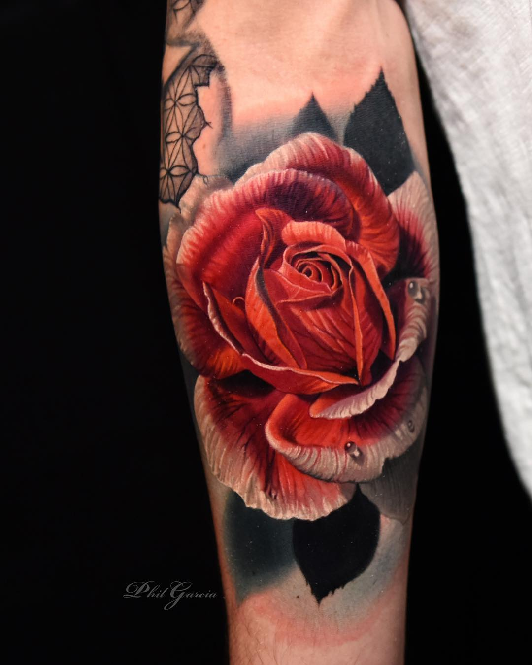 04bcd5ffb rose tattoo Tattoo Artist Phil Garcia ...