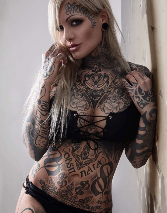 tattoo model mara inkperial
