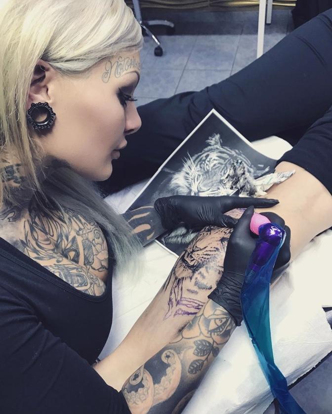 tattoo artist mara inkperial