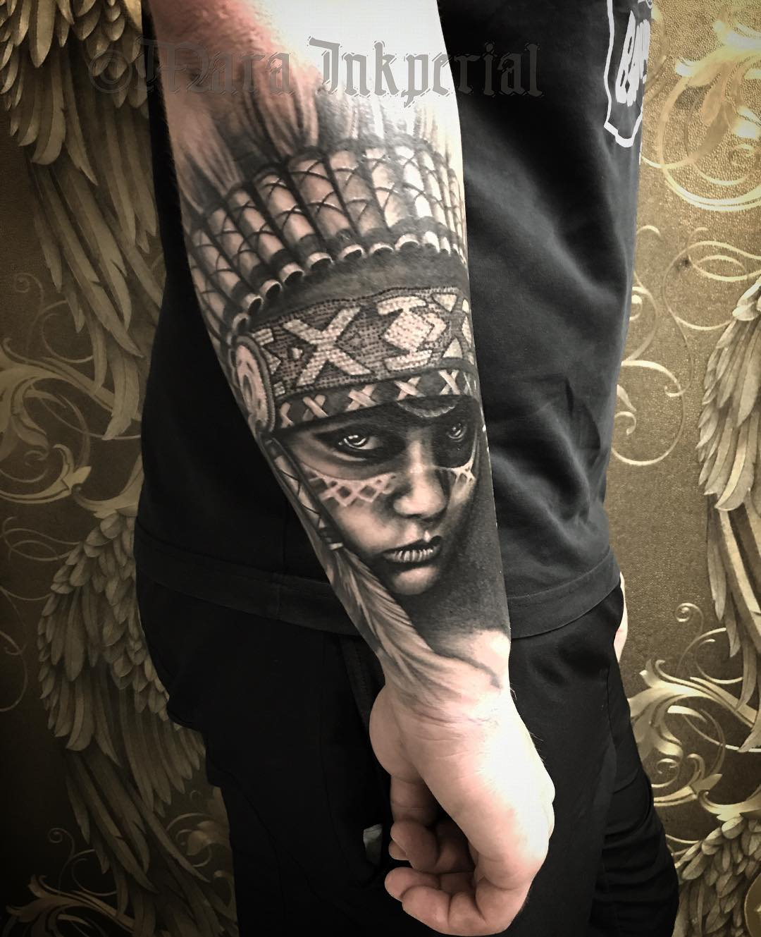 headdress tattoo