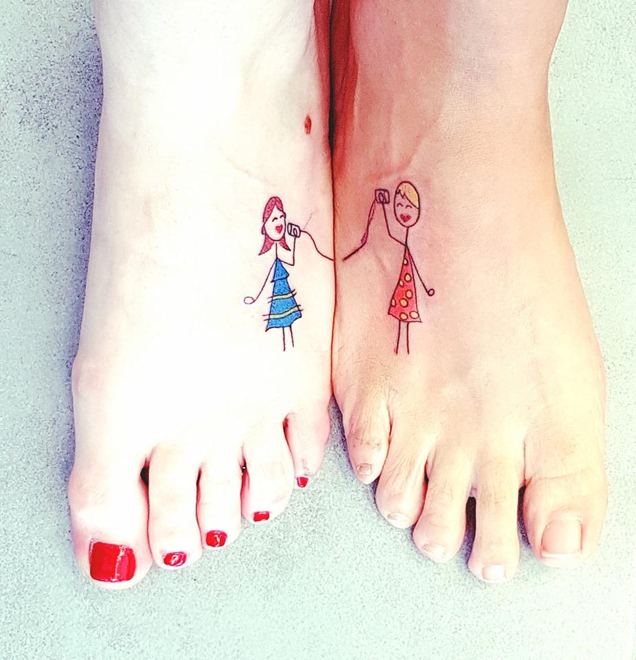 call me tattoo