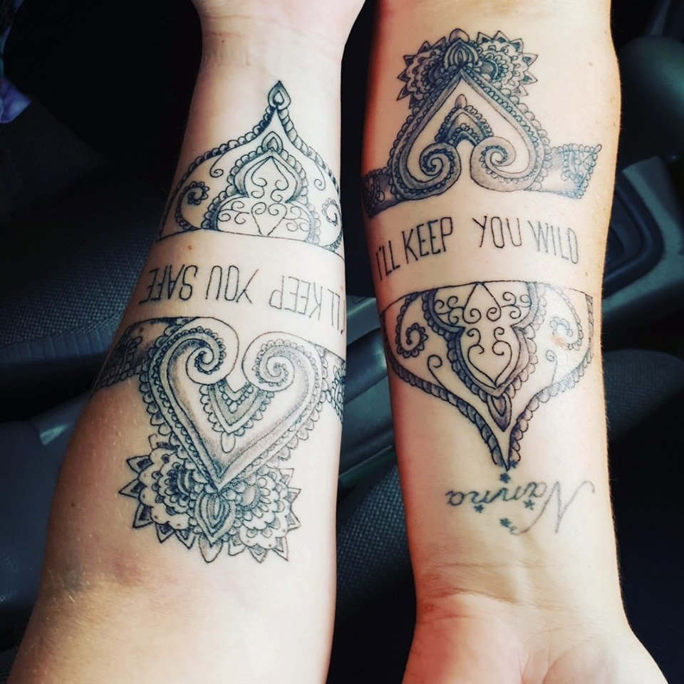 matching keep you tattoos