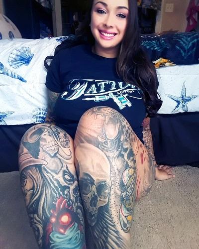 Tattoo Lovers Black Shirt