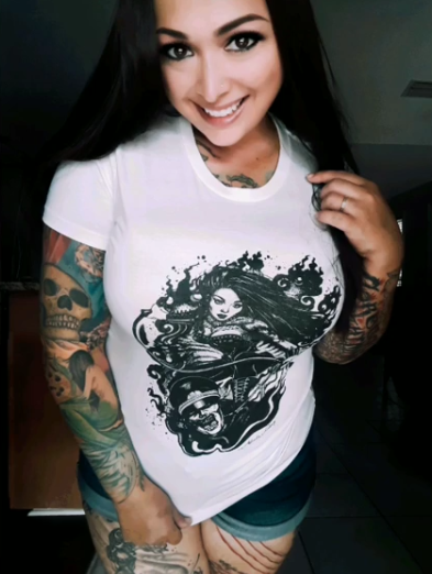 Daniella Mac Warrior White
