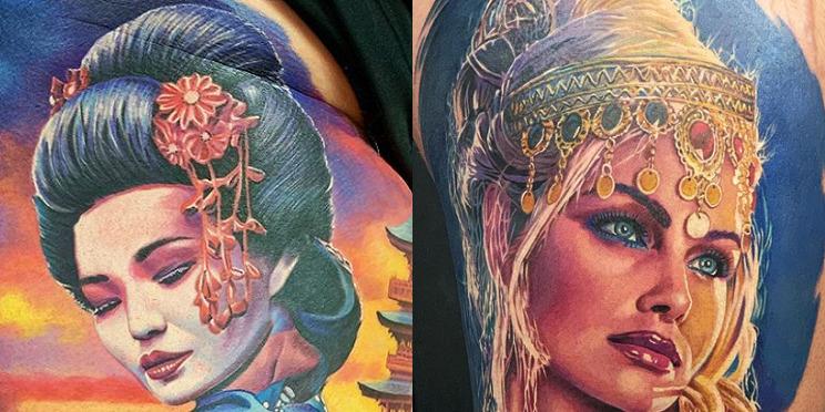 nakata ink color tattoos