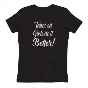 tattooed girls shirt