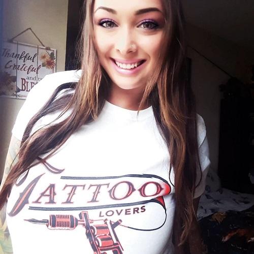 Tattoo Lovers White Shirt