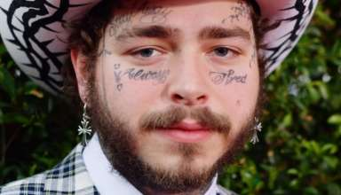 post malone face tattoos